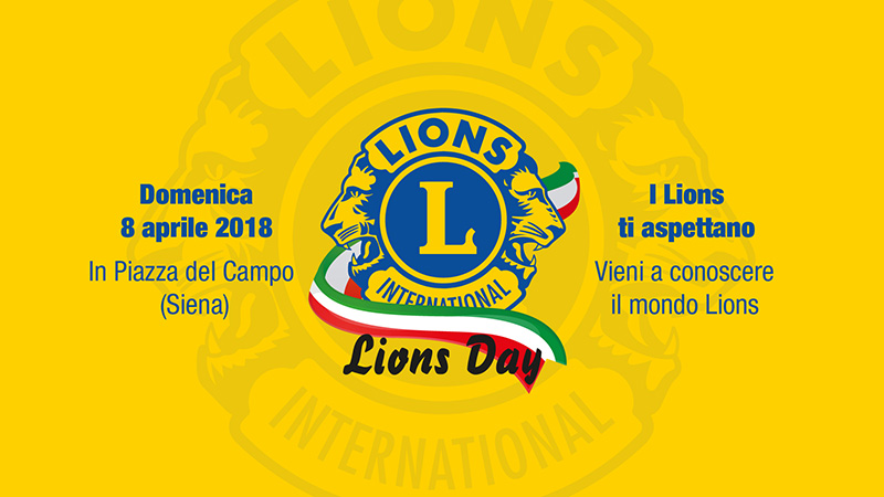 lions day Siena