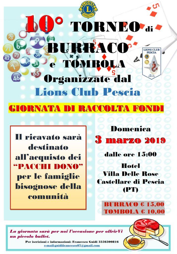 locandina burraco 2019